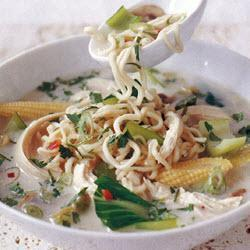 Куриный суп-лапша по-восточному