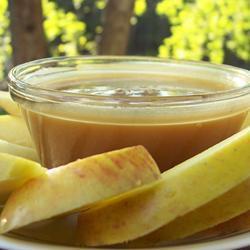 Сладкий соус-дип для фруктов