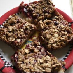 Овсяное печенье с вареньем