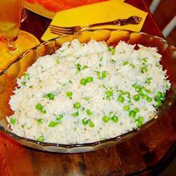 Рис Басмати с зеленым горошком