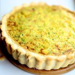 Открытый пирог с брокколи (Киш)