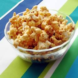 Попкорн с арахисовой пастой