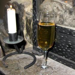 Праздничный коктейль с шампанским и Гранд Марнье