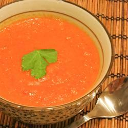 Суп пюре овощной с карри