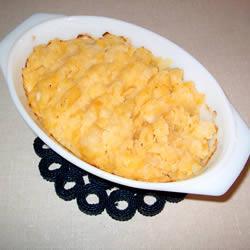 Пюре из репы с картофелем