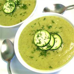Вкусный суп из кабачков