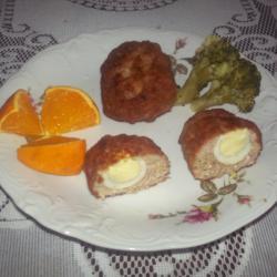 Свиные котлеты с яйцом