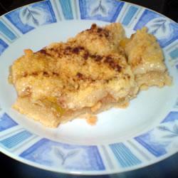 Пирог с кабачками из песочного теста