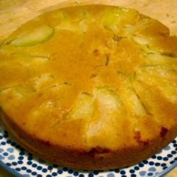 Яблочный пирог на оливковом масле