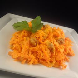 Быстрый морковный салат